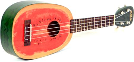 Kala Mahogany Ply Soprano Watermelon