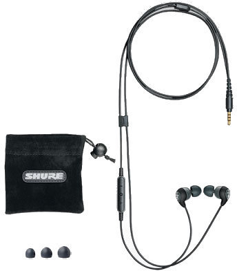 Shure SE112m+ Earphones with Mic