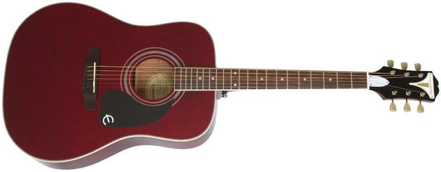 Epiphone PRO-1 Plus Acoustic Wine Red