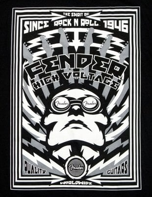 Fender High Voltage T-Shirt M