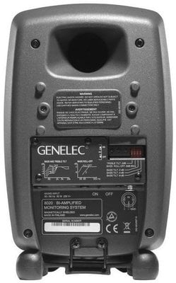 Genelec 8020C Bi-Amplified Monitor System - Anthracite