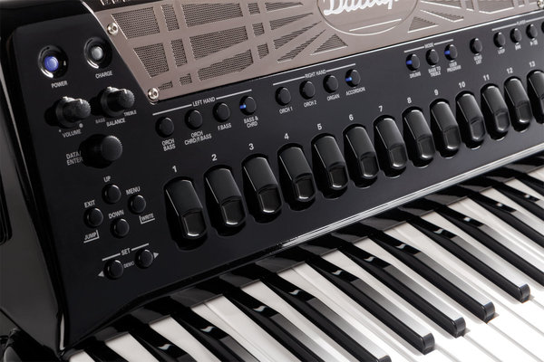 Roland FR-8X Dallapé Black