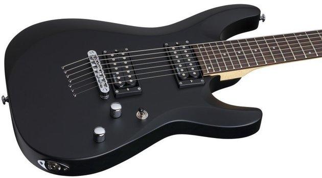 Schecter C-7 Deluxe Satin Black
