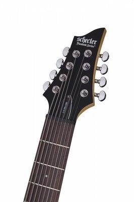 Schecter C-8 Deluxe Satin Black