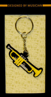Musician Designer Music Key Chain Trumpet