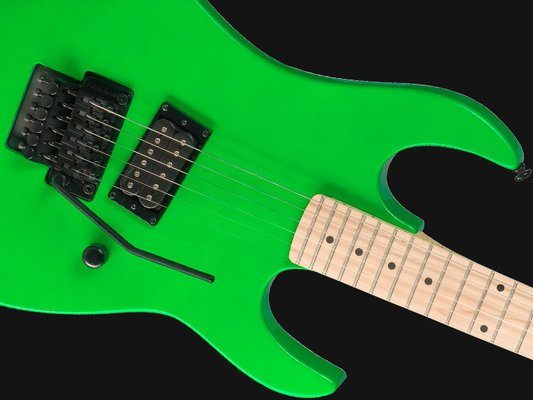 BC RICH Retro Gunslinger Neon Green
