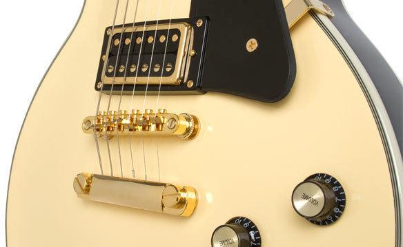 Epiphone Les Paul Custom Blackback PRO Antique Ivory