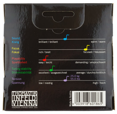 Thomastik VI200 Vision Viola String Set