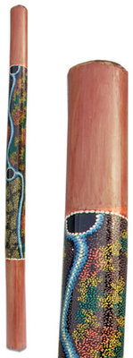 Terre Bamboo Didgeridoo Painted 120 cm