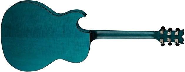 Dean Guitars Exhibition FM A/E - Faded Denim