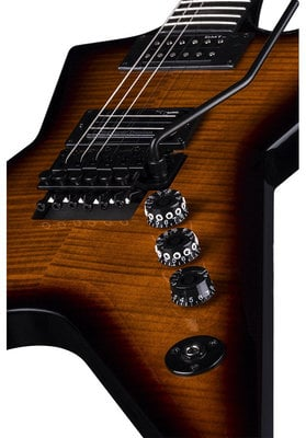 Dean Guitars Stealth Floyd FM - Trans Brazilia w/Case