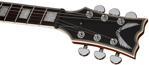 Dean Guitars Thoroughbred Deluxe - Trans Amber
