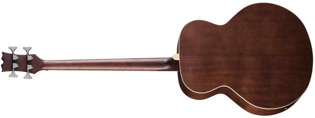 Dean Guitars Acoustic/Electric Bass - Satin Natural