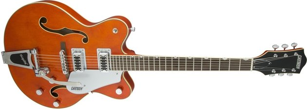 Gretsch G5422T Electromatic Hollow Body with Bigsby Orange Stain