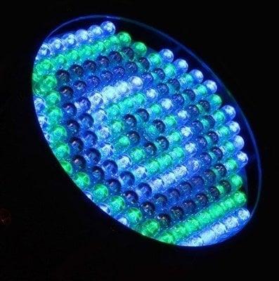 BeamZ LED FlatPAR Reflector with IR 154x 10 mm RGBW DMX