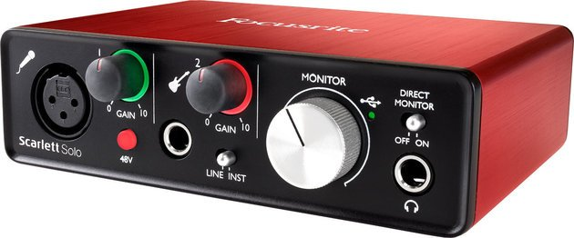 Focusrite Scarlett Solo 2nd Generation