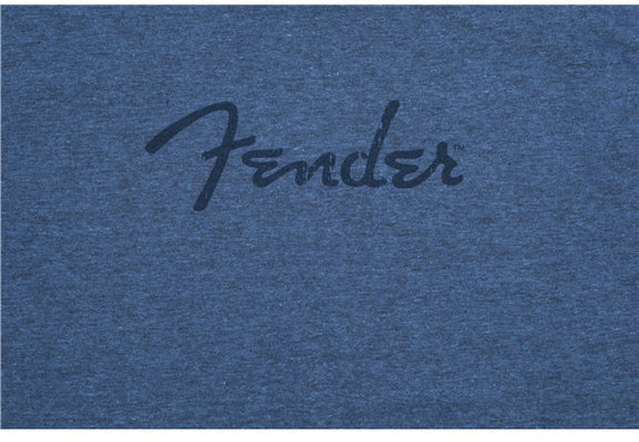 Fender Distressed Logo Premium T-Shirt Indigo Black M