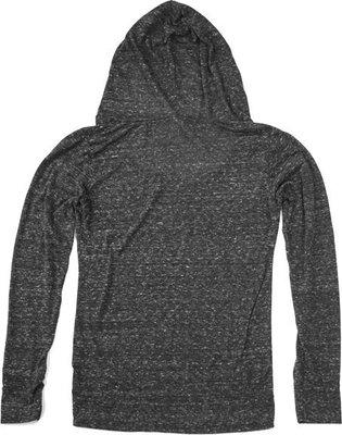 Fender Ladies Long Sleeve Top with Hood Grey XL