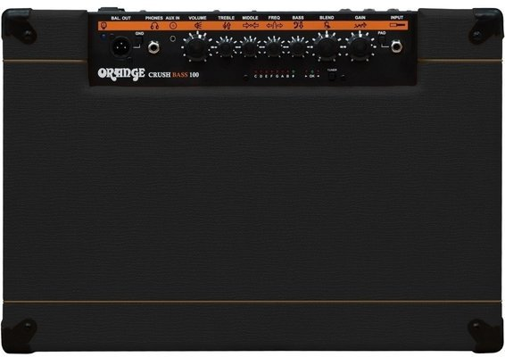 Orange Crush Bass 100 Black
