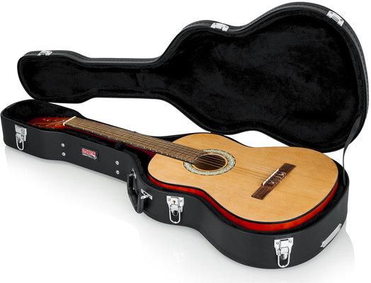 Gator GWE-CLASS Classical Guitar Wood Case