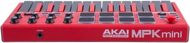 Akai MPK Mini mkII Limited Red