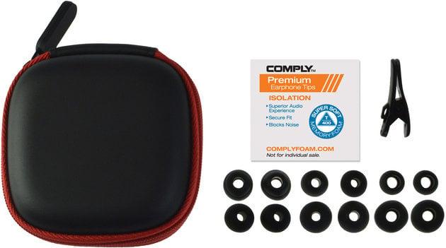 SoundMAGIC E80 Black-Red