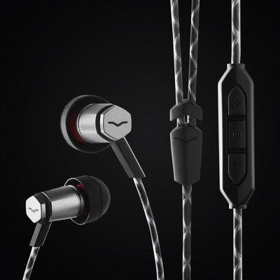 V-Moda Forza Metallo In-Ear Headphones Gunmetal Black Android