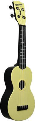 Kala Waterman Soprano Pale Yellow Matte Black Side and Back