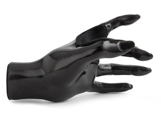GuitarGrip Guitar Grip Black Metallic Female Hand Left