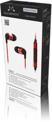 SoundMAGIC EC80C-BK-RD
