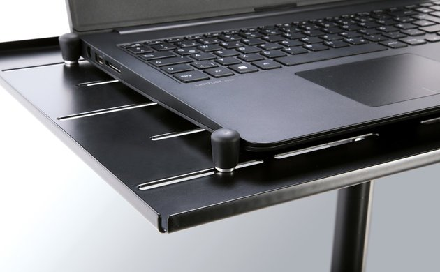 Konig & Meyer 12185 Laptop Stand Black