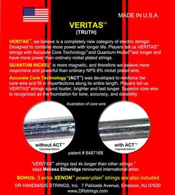 DR Strings VERITAS Quantum Nickel, Medium 10-46