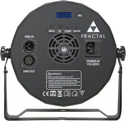 Fractal Lights PAR LED 9 x 10W + 1 x 20W
