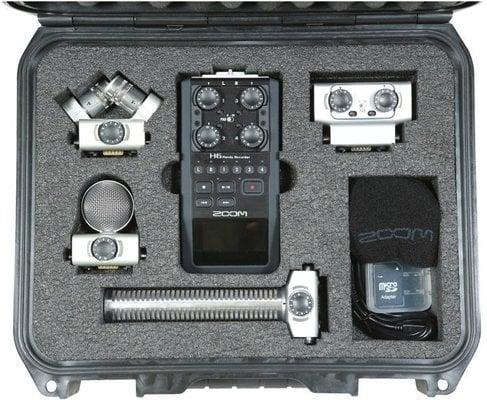 SKB Cases 3I-1209-4-H6B SKB iSeries Case for Zoom H6 B.R. Kit