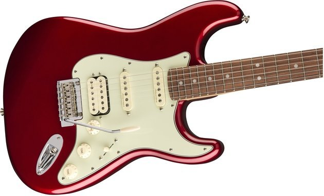 Fender Deluxe Stratocaster HSS Pau Ferro Candy Apple Red