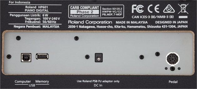 Roland HP-601 WH