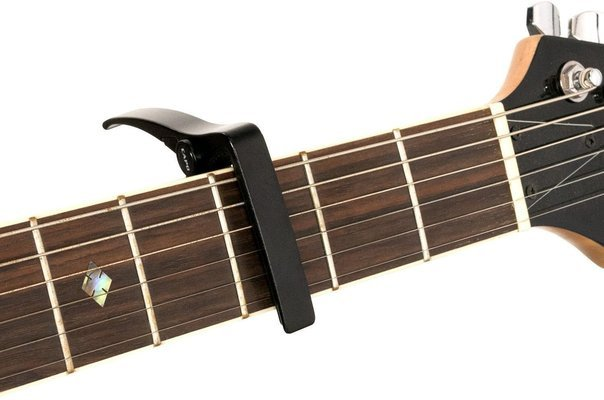 Cascha HH 2037 Capodaster for Acoustic and Electric Guitar