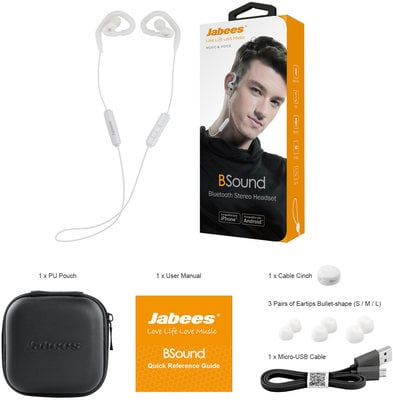 Jabees BSound White