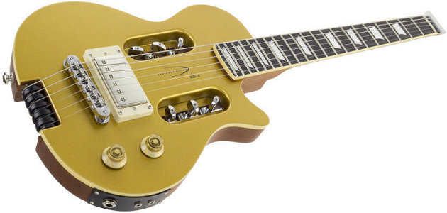 Traveler Guitar Traveler EG-1 Custom V2 Gold with Gig Bag