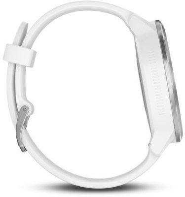 Garmin vívoactive 3 White Silicone/Stainless Steel