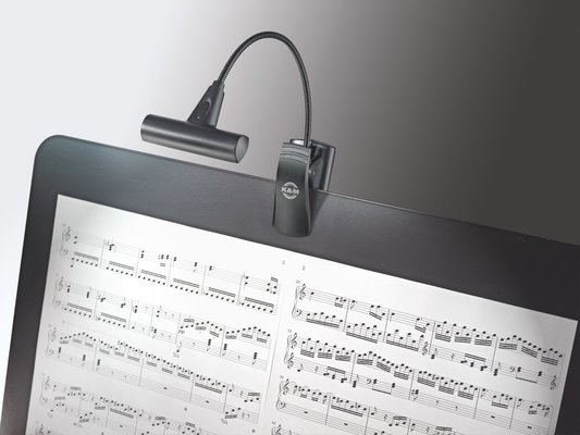 Konig & Meyer 12247 Music stand light T-Model LED FlexLight black