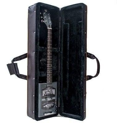 Bohemian BHC001G Hard Case Black/Brown Guitar