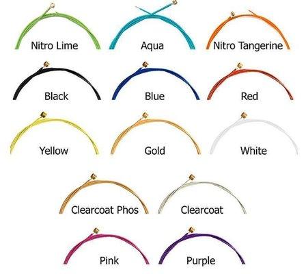 Aurora Premium Electric Guitar Strings Heavy 11-50 Nitro Tangerine