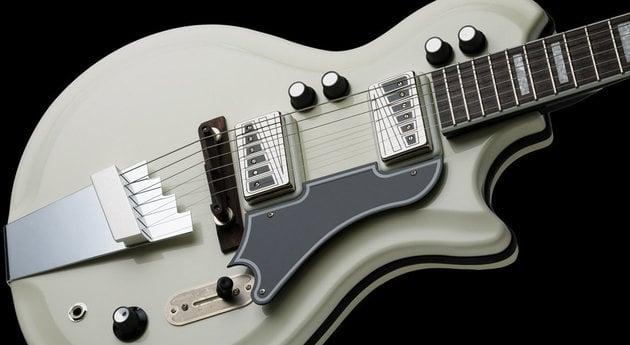 Supro Dualtone Americana Guitar Ermine White
