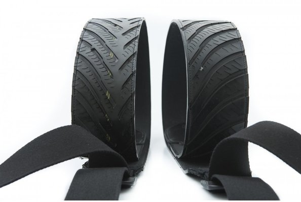 RightOnStraps Funky Hot-Wheels Black