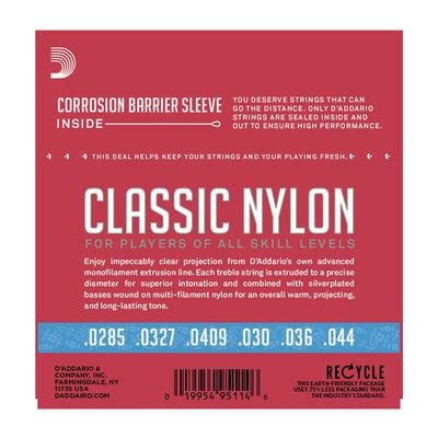 D'Addario J27H03 Single Clear Nylon 041/J27 3rd Hard Tension