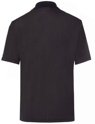 Golfino Golf Ball Printed Mens Polo Shirt Black 50