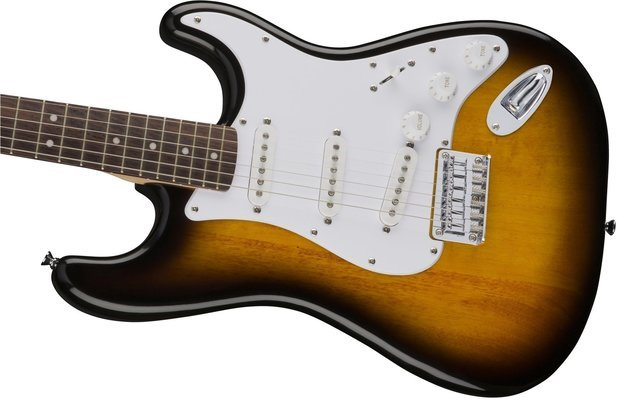 Fender Squier Bullet Stratocaster HT IL Brown Sunburst