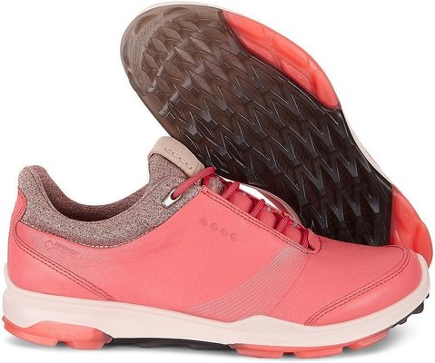 Ecco Biom Hybrid 3 Womens Golf Shoes Spiced Coral 36