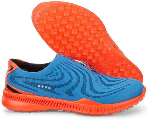 Ecco S-Drive Mens Golf Shoes Bermuda Blue/Fire 40